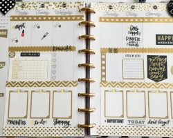 New clipboards happy planner