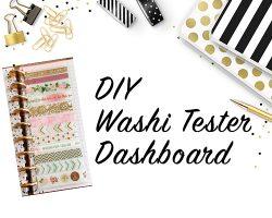 Washi Tester Dashboard